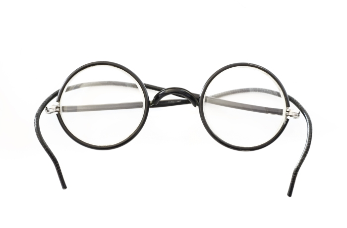 Old Round Eyeglasses.
