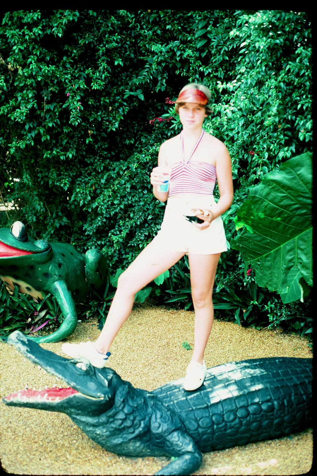 me on the gator